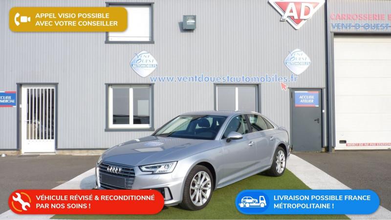 Audi A4 2.0 TDI 150CH S LINE S TRONIC 7 Diesel GRIS FLEURET Occasion à vendre