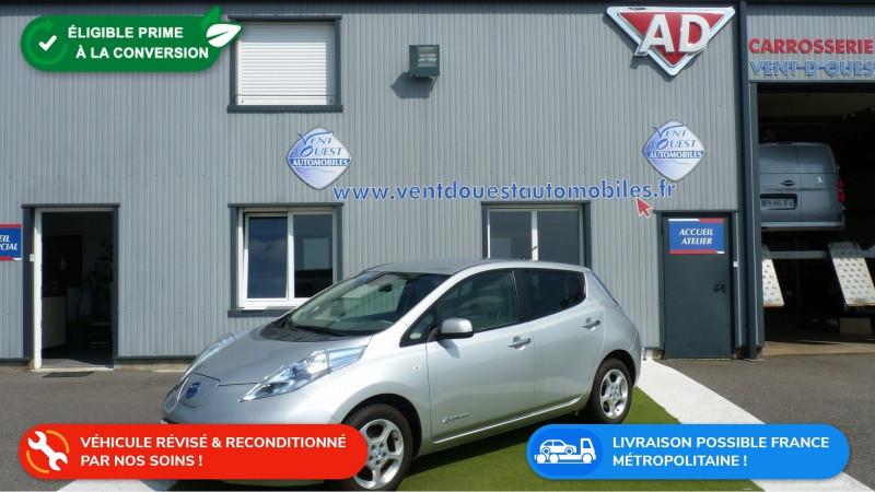 Photo 1 de l'offre de NISSAN LEAF 109CH à 8950€ chez Vent d'ouest automobiles