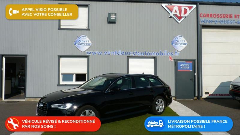 Audi A6 AVANT 2.0 TDI 190CH ULTRA AMBIENTE S TRONIC 7 Diesel NOIR Occasion à vendre