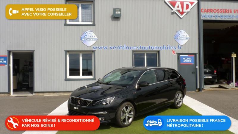 Peugeot 308 SW 1.5 BLUEHDI 130CH S&S GT LINE Diesel NOIR PERLA NERA Occasion à vendre