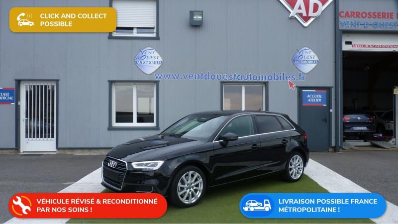 Audi A3 SPORTBACK 30 TDI 116CH DESIGN LUXE S TRONIC 7 EURO6D-T Diesel NOIR MYTHOS Occasion à vendre