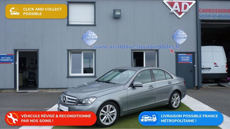 Mercedes-Benz CLASSE C (W204) 200 CDI AVANTGARDE 7G-TRONIC Diesel GRIS KERGUELEN Occasion à vendre