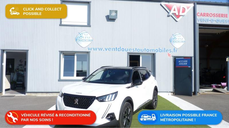 Peugeot 2008 1.2 PURETECH 155CH S&S GT EAT8 Essence BLANC NACRE Occasion à vendre