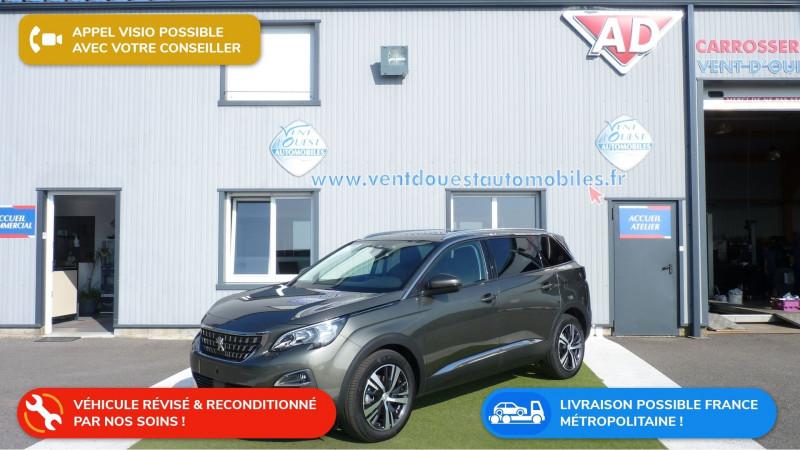 Peugeot 5008 1.5 BLUEHDI 130CH E6.C ALLURE  S&S 6CV Diesel GRIS AMAZONITE Occasion à vendre