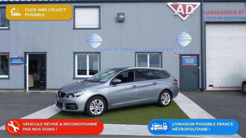 Peugeot 308 SW 1.5 BLUEHDI 130CH S&S ALLURE EAT6 Diesel GRIS ARTENSE Occasion à vendre