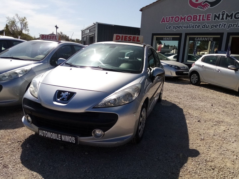 Peugeot 207 HDI  1.4L 70 ACTIVE 5P Diesel GRIS C Occasion à vendre