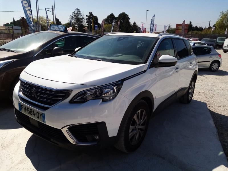 Peugeot 5008 1.6 BLUEHDI 120CH ACTIVE BUSINESS S&S Diesel BLANC Occasion à vendre