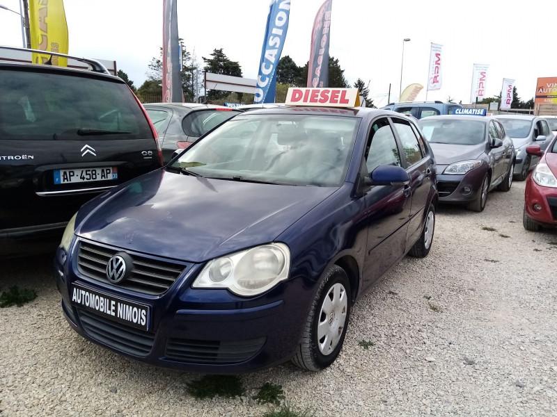 Volkswagen POLO TDI 80CH  1.4L 5P Diesel BLEU F Occasion à vendre