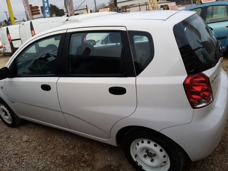 Photo 2 de l'offre de CHEVROLET KALOS 1.2 SE 5P à 2600€ chez Automobile nimois