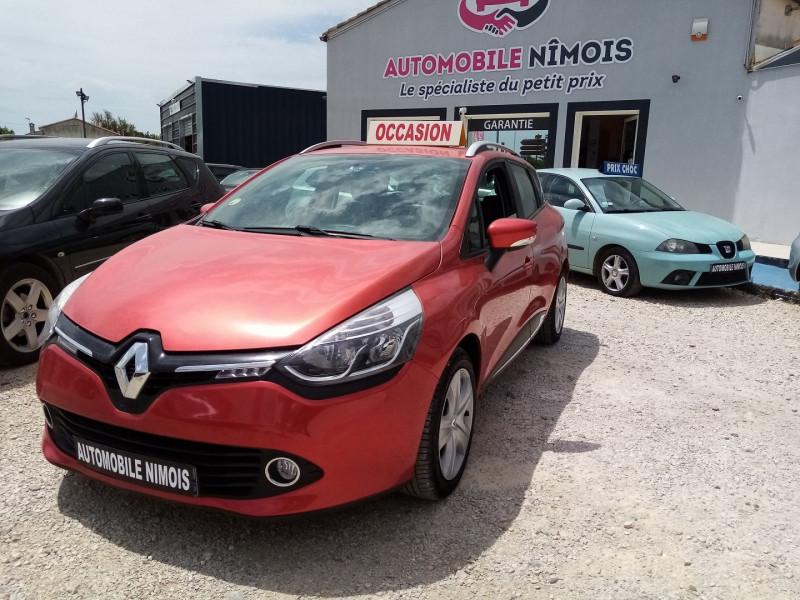 Renault CLIO IV ESTATE DCI 1.5L 75CH ENERGY BUSINESS ECO² EURO6 2015 Diesel ROUGE Occasion à vendre