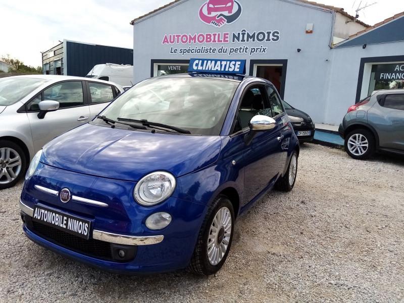 Fiat 500 1.2 8V 69CH S&S LOUNGE Essence BLEU F Occasion à vendre