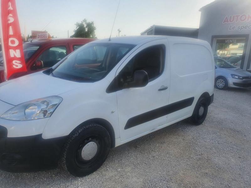 Peugeot PARTNER HDI  1.6L PACK CD Diesel BLANC Occasion à vendre