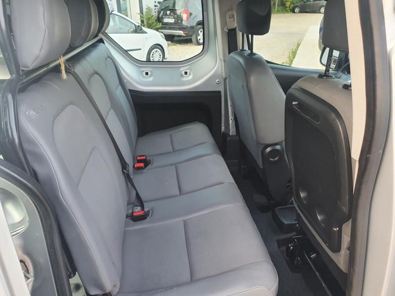 Photo 8 de l'offre de CITROEN BERLINGO HDI 21 L2 1.6L 90 CABINE APPROFONDIE CONFORT à 10500€ chez Automobile nimois