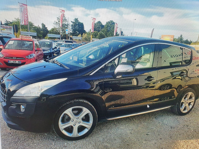 Peugeot 3008 1.6 THP 16V FELINE Essence NOIR Occasion à vendre