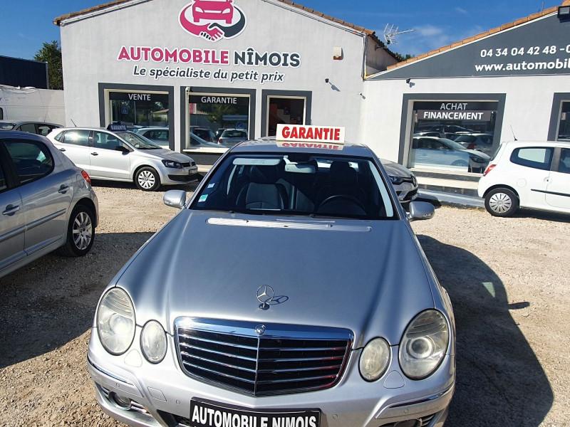 Mercedes-Benz CLASSE E (W211) CDI  200  AVANTGARDE Diesel GRIS C Occasion à vendre