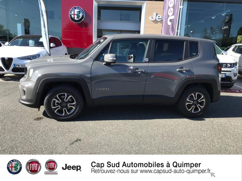 Photo 2 de l'offre de JEEP Renegade 1.6 MultiJet 120ch Quicksilver Winter Edition MY20 à 24900€ chez Cap-Sud Automobiles - Quimper