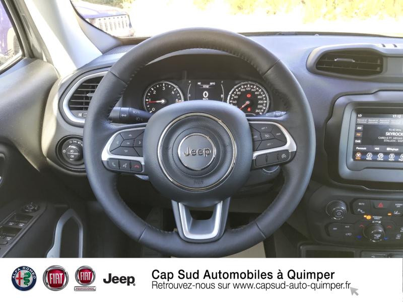 Photo 7 de l'offre de JEEP Renegade 1.6 MultiJet 120ch Quicksilver Winter Edition MY20 à 24900€ chez Cap-Sud Automobiles - Quimper