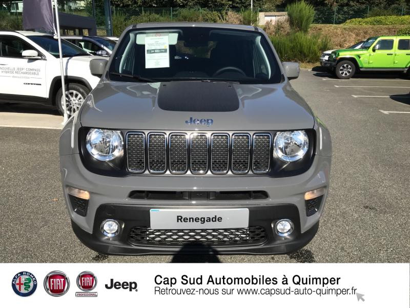 Photo 5 de l'offre de JEEP Renegade 1.6 MultiJet 120ch Quicksilver Winter Edition MY20 à 24900€ chez Cap-Sud Automobiles - Quimper