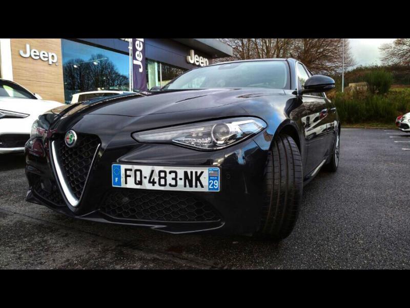 Alfa Romeo Giulia 2.2 JTD 160ch Sprint AT8 MY20 Diesel Noir Alfa Occasion à vendre