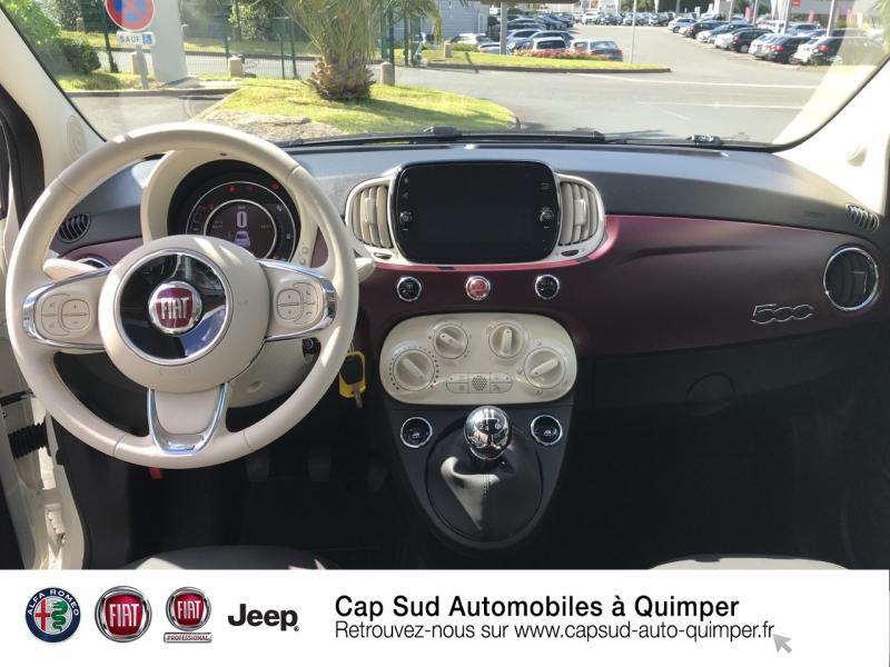 Photo 6 de l'offre de FIAT 500 0.9 8v TwinAir 85ch S&S Diva à 16900€ chez Cap-Sud Automobiles - Quimper