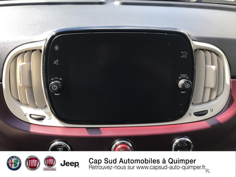 Photo 8 de l'offre de FIAT 500 0.9 8v TwinAir 85ch S&S Diva à 16900€ chez Cap-Sud Automobiles - Quimper