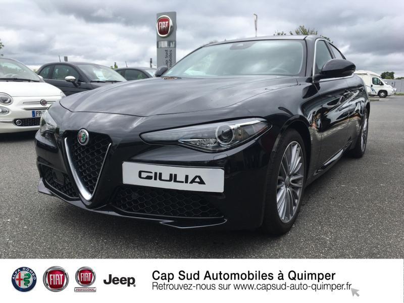 Alfa Romeo Giulia 2.2 JTD 160ch TI AT8 MY20 Diesel Noir Alfa Occasion à vendre