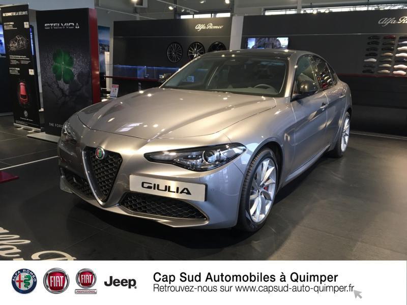 Alfa Romeo Giulia 2.2 JTD 160ch Sprint AT8 MY20 Diesel Gris Stromboli Occasion à vendre