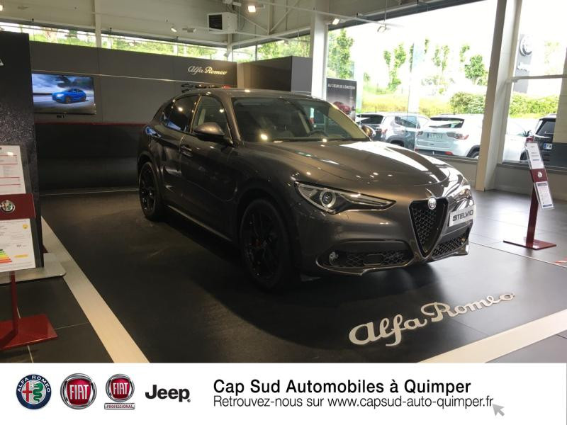 Alfa Romeo Stelvio 2.2 Diesel 160ch Sprint AT8 MY20 8CV Diesel Gris Vesuvio Occasion à vendre