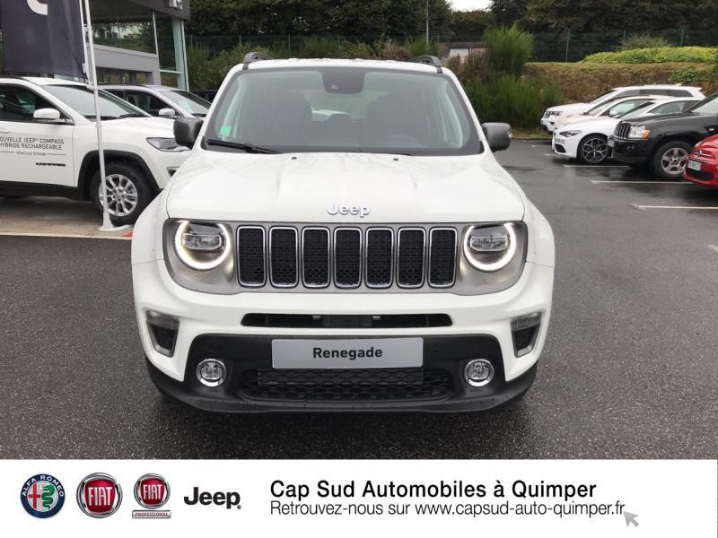 Photo 5 de l'offre de JEEP Renegade 1.3 GSE T4 190ch 4xe Limited AT6 à 32990€ chez Cap-Sud Automobiles - Quimper