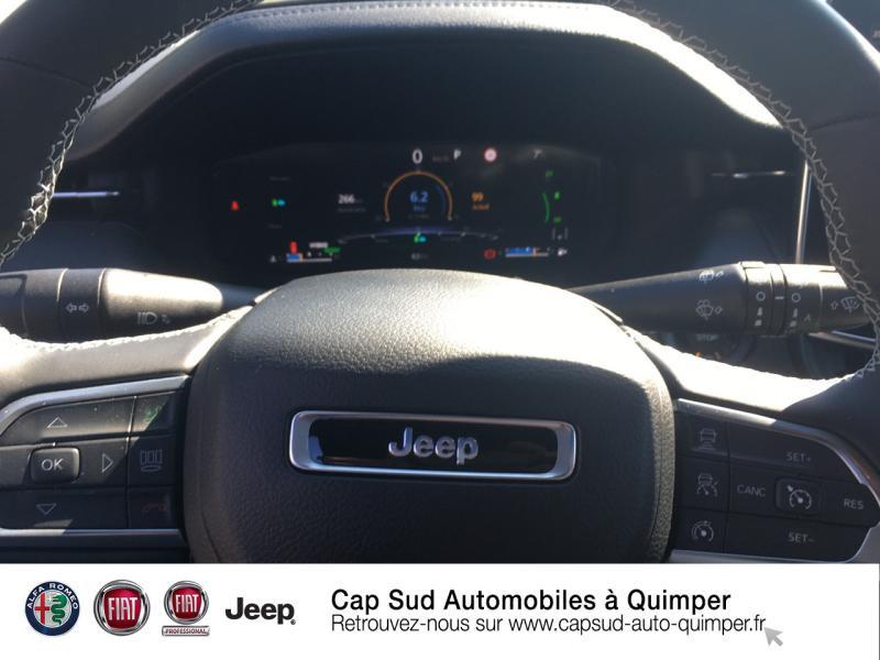 Photo 9 de l'offre de JEEP Compass 1.3 GSE T4 240ch S 4xe PHEV AT6 à 45890€ chez Cap-Sud Automobiles - Quimper