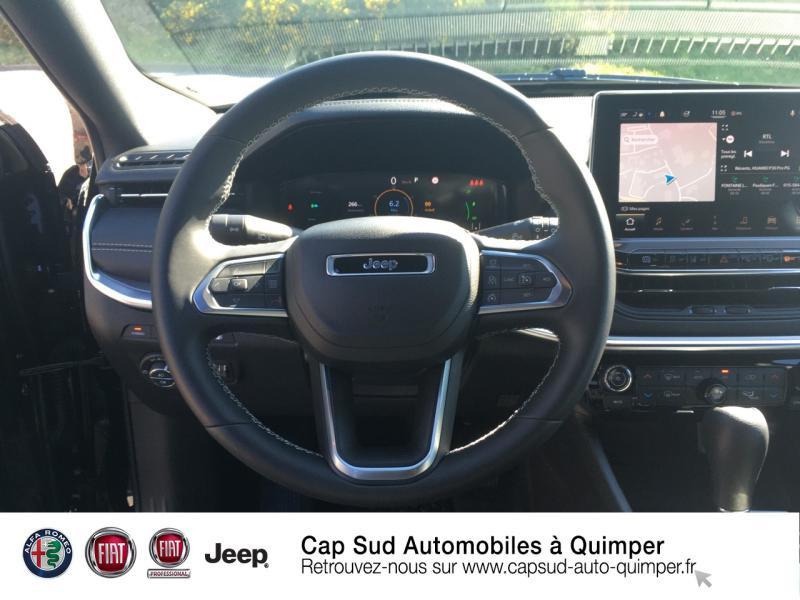 Photo 7 de l'offre de JEEP Compass 1.3 GSE T4 240ch S 4xe PHEV AT6 à 45890€ chez Cap-Sud Automobiles - Quimper