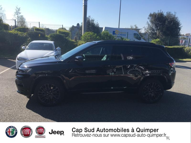 Photo 2 de l'offre de JEEP Compass 1.3 GSE T4 240ch S 4xe PHEV AT6 à 45890€ chez Cap-Sud Automobiles - Quimper