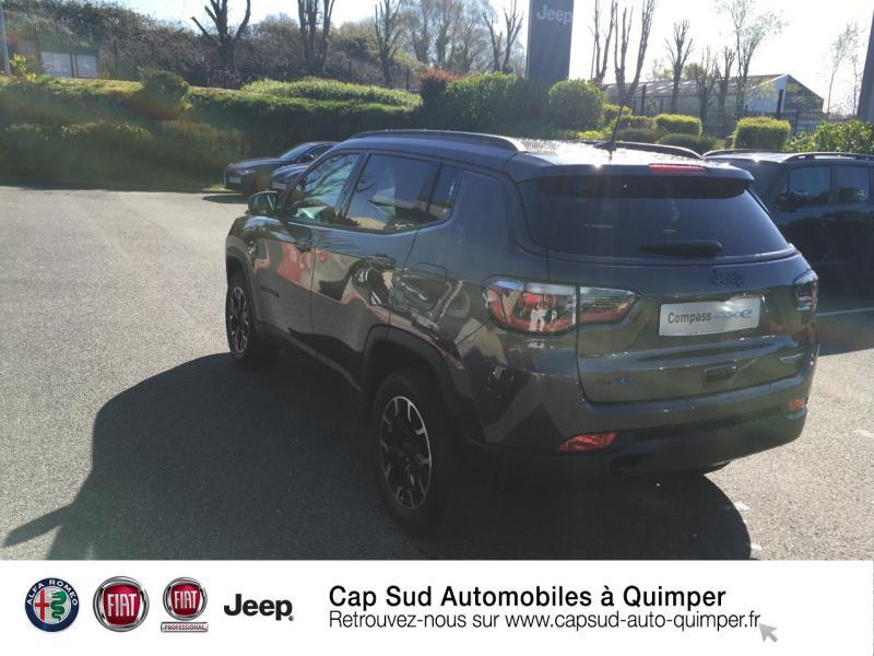 Photo 3 de l'offre de JEEP Compass 1.3 GSE T4 240ch Trailhawk 4xe PHEV AT6 à 39900€ chez Cap-Sud Automobiles - Quimper
