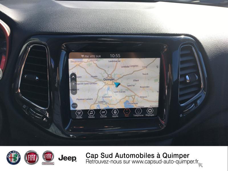 Photo 8 de l'offre de JEEP Compass 1.3 GSE T4 240ch Trailhawk 4xe PHEV AT6 à 39900€ chez Cap-Sud Automobiles - Quimper