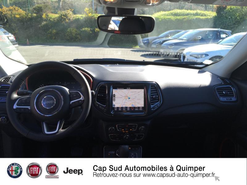 Photo 6 de l'offre de JEEP Compass 1.3 GSE T4 240ch Trailhawk 4xe PHEV AT6 à 39900€ chez Cap-Sud Automobiles - Quimper