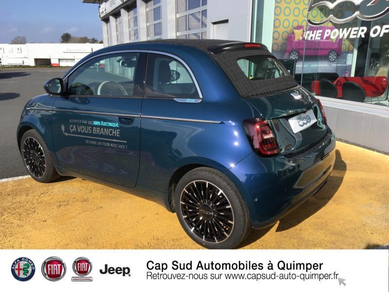 Photo 3 de l'offre de FIAT 500C e 118ch La Prima à 34990€ chez Cap-Sud Automobiles - Quimper