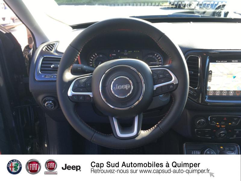 Photo 7 de l'offre de JEEP Compass 1.3 GSE T4 240ch Trailhawk 4xe PHEV AT6 à 39900€ chez Cap-Sud Automobiles - Quimper
