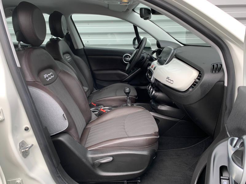 Photo 11 de l'offre de FIAT 500X 1.6 Multijet 16v 120ch Lounge à 14490€ chez Cap-Sud Automobiles - Quimper