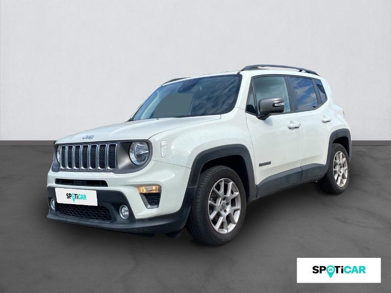 Jeep Renegade 1.0 GSE T3 120ch Limited IMPORT Essence BLANC Occasion à vendre