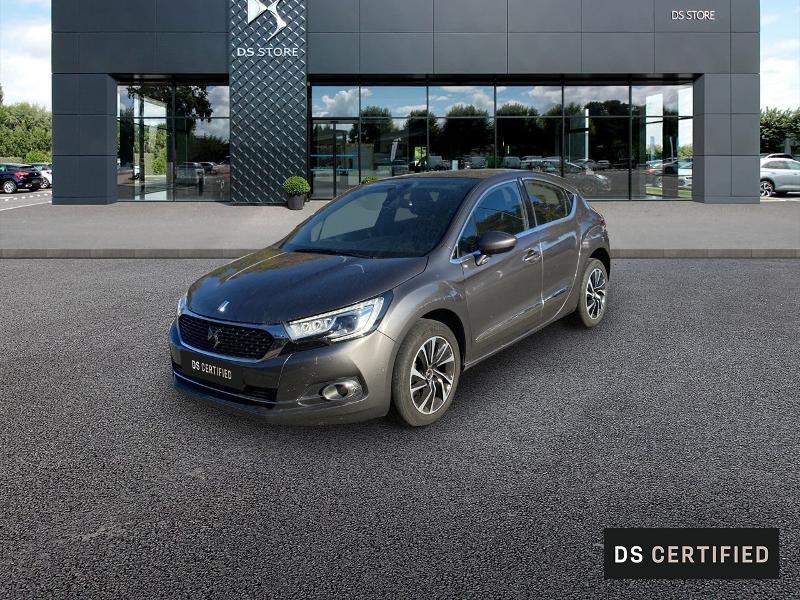 Ds DS 4 BlueHDi 120ch So Chic S&S EAT6 Diesel GRIS PLATINIUM Occasion à vendre