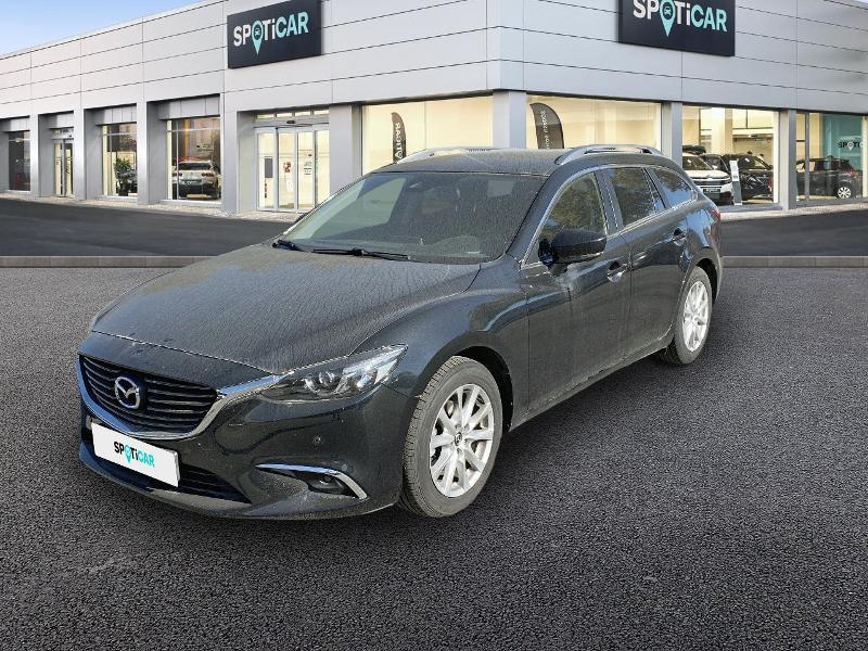 Mazda Mazda 6 FW 2.2 SKYACTIV-D 150 Dynamique BVA Diesel NOIR Occasion à vendre
