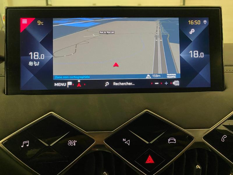Photo 12 de l'offre de DS DS 3 Crossback PureTech 130ch Grand Chic Automatique à 33000€ chez MURET - Citroën, DS Automobiles, VO toutes marques