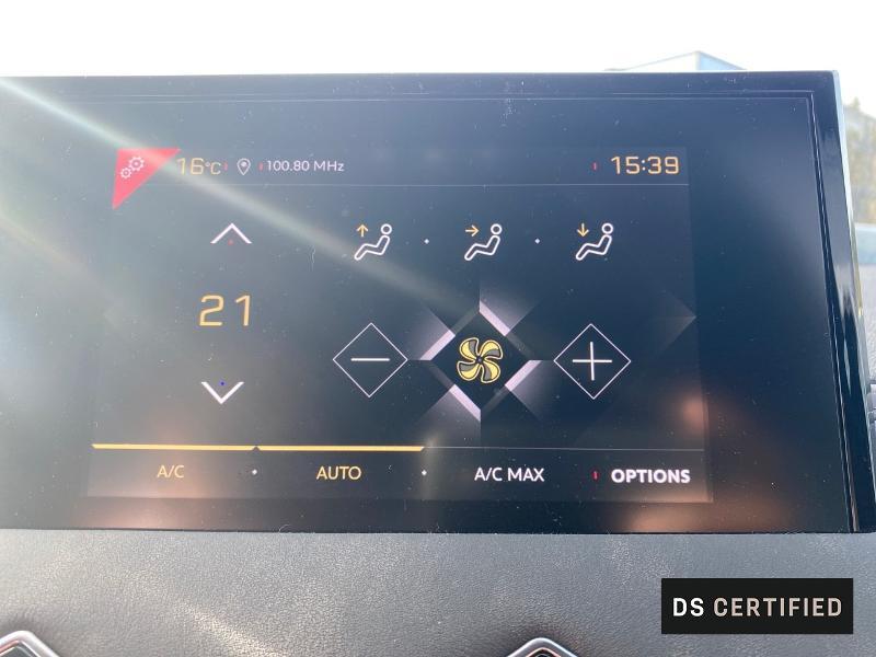 Photo 15 de l'offre de DS DS 3 Crossback BlueHDi 130ch So Chic Automatique 7cv à 32500€ chez MURET - Citroën, DS Automobiles, VO toutes marques