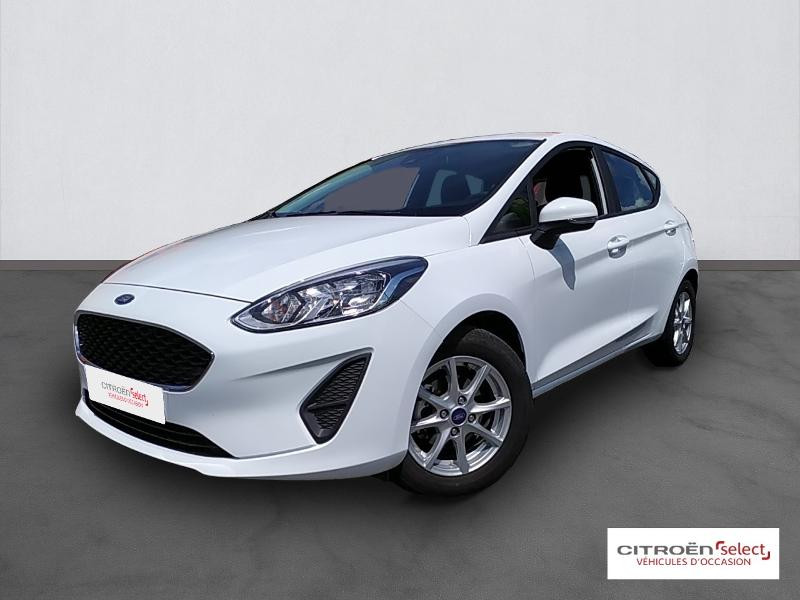 Ford Fiesta 1.0 EcoBoost 100ch Stop&Start Cool & Connect 5p Euro6.2 Essence BLANC Occasion à vendre
