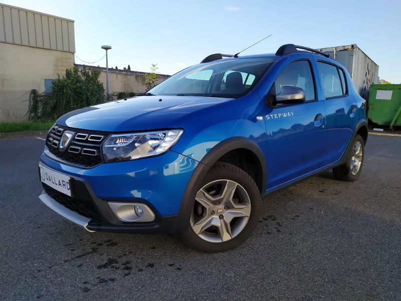 Dacia Sandero 0.9 TCe 90ch Stepway Essence BLEU CLAIR Occasion à vendre