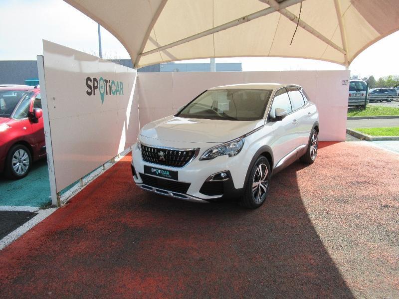 Peugeot 3008 1.2 PureTech 130ch S&S Allure EAT8 Essence BLANC Occasion à vendre