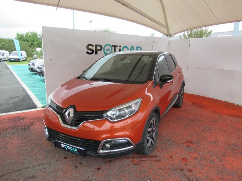 Renault Captur 1.5 dCi 90ch Stop&Start energy Intens eco² Diesel ORANGE Occasion à vendre