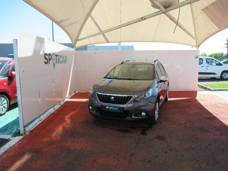 Peugeot 2008 1.2 PureTech 82ch E6.c Style S&S Essence GRIS PLATINI Occasion à vendre