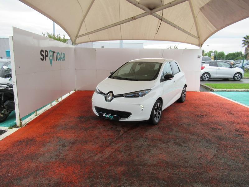 Renault Zoe Intens R110 MY19 Electrique BLANCHE Occasion à vendre