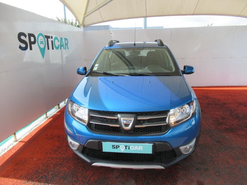 Dacia Sandero 0.9 TCe 90ch Stepway Prestige Euro6 Essence BLEU Occasion à vendre